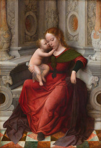 Giclee prints of  Virgin and Child by Adriaen Isenbrant