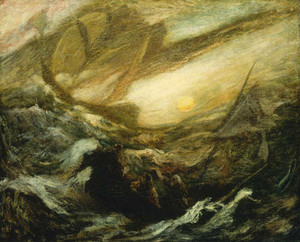 Giclee prints of Flying Dutchman by Arthur Pinkham Ryder