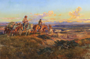 When Guns were their Passports by Charles Marion Russell