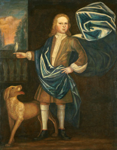 Art Prints of Boy of the Beckman Family by 18th Century American Artist
