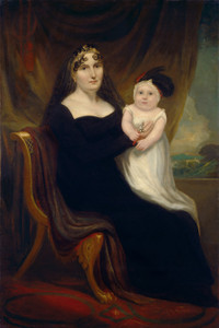 Art Prints of Mother and Child by 19th Century American Artist