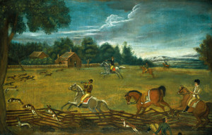 Art Prints of The End of the Hunt by 19th Century American Artist