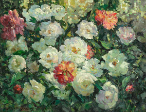 Art Prints of Peonies by Abbott Fuller Graves