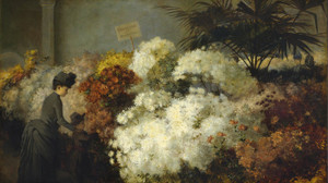 Art Prints of The Chrysanthemum Show by Abbott Fuller Graves