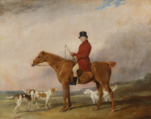 Art Prints of Thomas Rounding on His Favorite Hunter Spankaway by Abraham Cooper