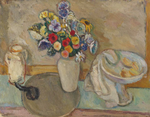 Art Prints of Still Life with Flowers by Abraham Manievich