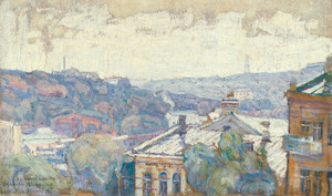 Art Prints of View of Kiev by Abraham Manievich