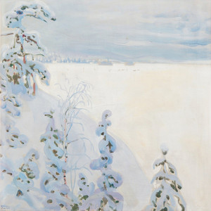 Art Prints of Winter Landscape by Akseli Gallen-Kallela