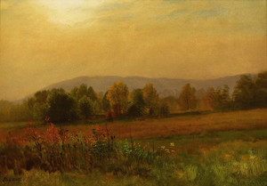 Art Prints of Autumn Landscpe by Albert Bierstadt