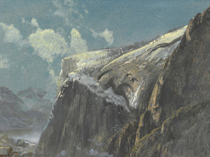 Art Prints of Above the Timberline by Albert Bierstadt
