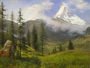Art Prints of Matterhorn II by Albert Bierstadt
