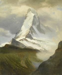 Art Prints of Matterhorn by Albert Bierstadt