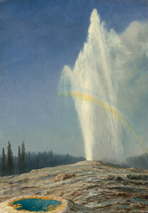 Art Prints of Old Faithful by Albert Bierstadt