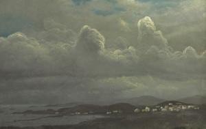Art Prints of Port Richmond Bay of San Francisco by Albert Bierstadt