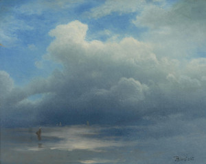 Art Prints of Sea and Sky by Albert Bierstadt