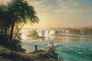 Art Prints of The Falls of Saint Anthony by Albert Bierstadt
