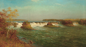 Art Prints of The Falls of Saint Anthony II by Albert Bierstadt