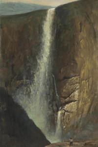 Art Prints of The Falls by Albert Bierstadt