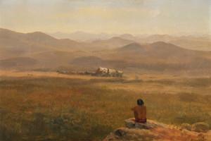 Art Prints of The Lookout by Albert Bierstadt