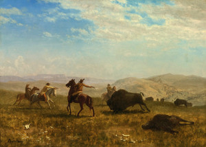 Art Prints of The Wild West by Albert Bierstadt