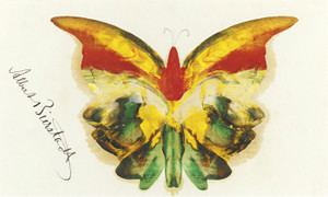 Art Prints of Yellow Butterfly by Albert Bierstadt