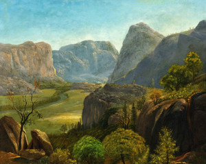 Art Prints of The Hetch Hetchy Valley, 1873 by Albert Bierstadt