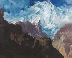 Art Prints of Mount Rakaposhi by Alexander Evgenievich Yakovlev