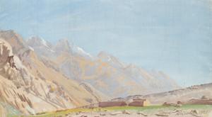 Art Prints of View of Beyik by Alexander Evgenievich Yakovlev