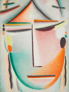 Art Prints of Savior's Face, Beauty, Red by Alexej Von Jawlensky