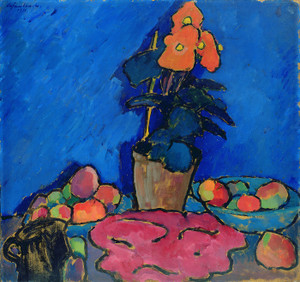 Art Prints of Still Life with Begonia by Alexej Von Jawlensky