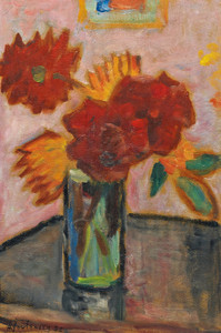 Art Prints of Still Life with Flowers by Alexej Von Jawlensky