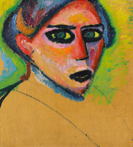 Art Prints of Woman's Face by Alexej Von Jawlensky