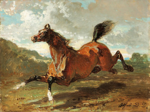 Art Prints of Galloping Horse by Alfred de Dreux