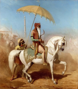 Art Prints of Randjit Sing Baadur, King of Lahore by Alfred de Dreux
