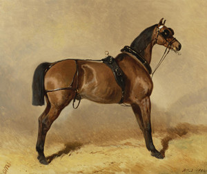 Art Prints of Workhorse by Alfred de Dreux