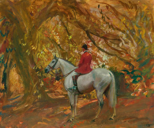 Art Prints of Autumn Sunshine by Alfred James Munnings