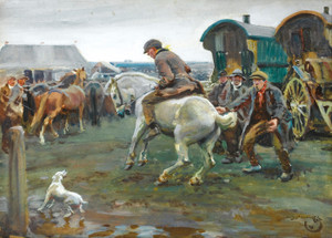 Art Prints of Horse Fair by Alfred James Munnings