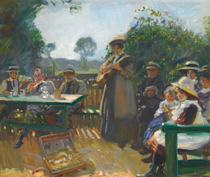 Art Prints of Somewhere the Sun is Shining by Alfred James Munnings