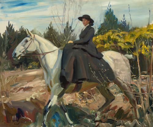Art Prints of The Morning Ride by Alfred James Munnings