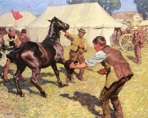 Art Prints of Bungay Horsefair by Alfred James Munnings