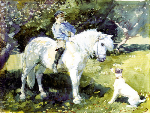 Art Prints of An Old Favorite by Alfred James Munnings