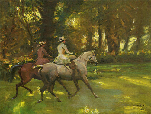 Art Prints of The Morning Ride II by Alfred James Munnings