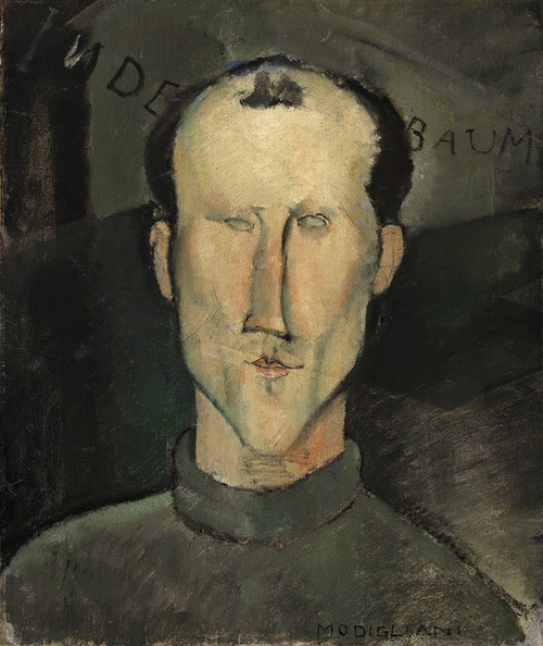 Art Prints of Leon Indenbaum by Amedeo Modigliani