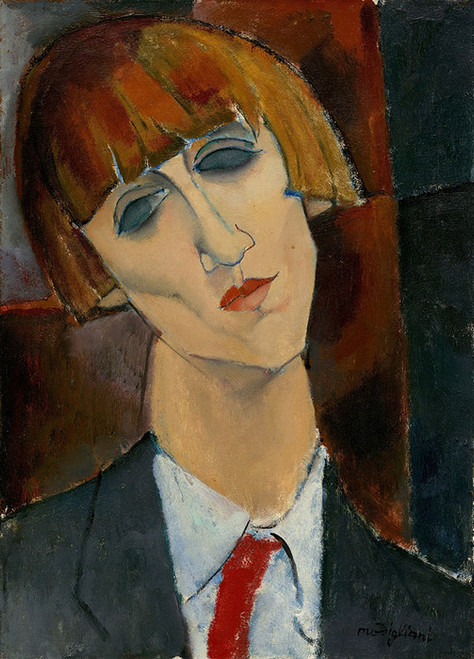 Art Prints of Madame Kisling by Amedeo Modigliani