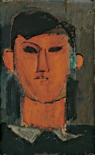 Art Prints of Portrait of Picasso by Amedeo Modigliani