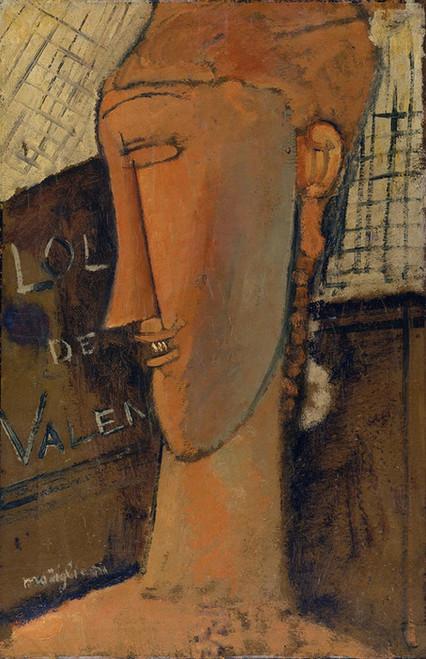 Art Prints of Lola de Valence by Amedeo Modigliani