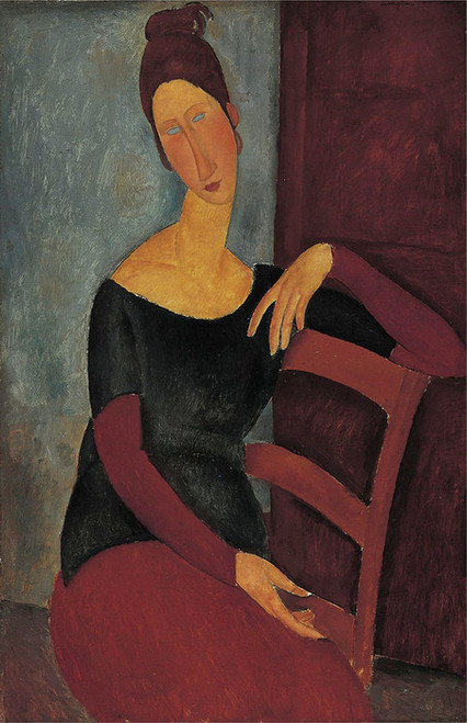 Art Prints of Portrait of the Artist's Wife by Amedeo Modigliani