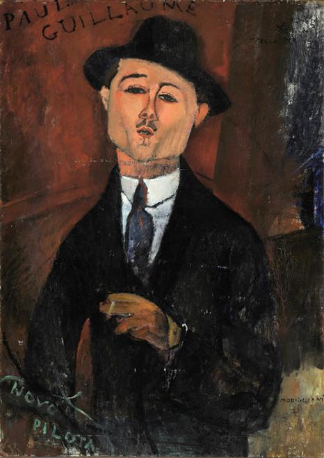 Art Prints of Paul Guillaume Novo Pilota by Amedeo Modigliani
