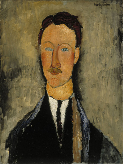 Art Prints of Portrait of the Artist Leopold Survage by Amedeo Modigliani