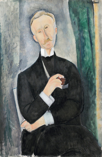 Art Prints of Roger Dutilleul by Amedeo Modigliani